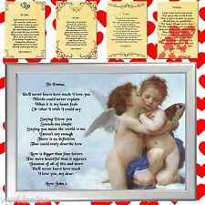 PERSONALISED POEM ANGELS ROMANTIC VALENTINES GIFT SET BOX FOR HIM HER