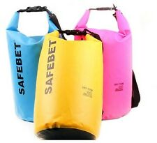 SAFEBET Waterproof Dry Bag FREE Shoulder Strap Belt Beach Swimming