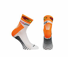 Calze Calzini Estivi Northwave Mod.SPEED White/Orange Fluo/SUMMER SOCKS NORTHWAV