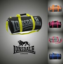 New Branded Lonsdale Barrel Bag Holdall Sports Gym Travel Bags W52 x H26 x D26cm