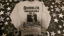 Harry Potter Quibbler Jumper Grey Official Merchandise Brand New With Tags
