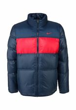 Nike Puffa Coat Padded Duck Down 550 Jacket Reversable Puffer UK XL