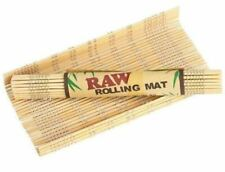 8 X 12 CM ROLLING MAT RAW ORIGINAL NATURAL BAMBOO SMOKING CIGARETTE ROLLING MAT