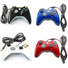 UK Brand New Xbox 360 Controller USB Wired Game Pad For Microsoft Xbox 360 PC