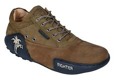 FIGHTER ORIGINAL MENS 51113 OLIVE ADVENTURE CASUAL  LACED SHOES