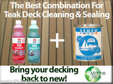 Teak Cleaning and Sealer Package. Wessex Cleaning AND Semco Natural Sealer