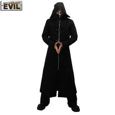 Long Coat Black Gothic Manteau Noir Necessary Evil Highwayman Dark Gothique