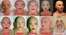 Female masks 10 differnt faces (Genuine MASK ON FROM USA, Uk based Items)