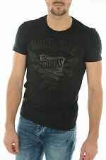 Tee shirt manches courtes Homme Redskins CYCLE CALDER noir