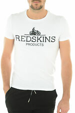 Tee shirt manches courtes Homme Redskins PANTHER CALDER Blanc