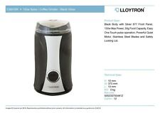 KitchenPerfected Lloytron 150W Spice / Coffee Grinder - Black