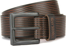 Woodland Original Men Brown Genuine Leather Belt - 1025