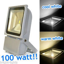 100W LED FLOODLIGHTS COMMERCIAL / INDUSTRIAL LIGHTING SECURITY YARDS CAR PARKS