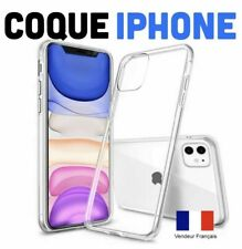 COQUE ETUI HOUSSE IPHONE 5/6/6S/7  iPhone 8 /8 PLUS  EN GEL SILICONE TRANSPARENT