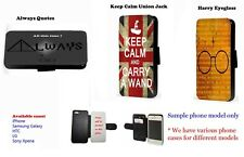 Harry potter quote leather phone case Samsung J3 J5 S5 S6 A3 A5 Mini Note 3 4