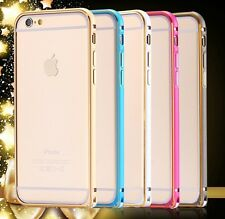 iPhone 6s Plus 6 Plus Bicolor Aluminium Metall Bumper Case Cover Schutz Hülle