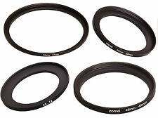 Step Up Lens Filter Ring Adapter 30 37 40.5 46 49 52 55 58 62 67 72 77 82mm mm