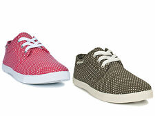 Trespass Nieve Womens Ladies Canvas Casual beach Summer Shoes Trainers