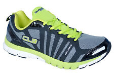 COLUMBUS BRAND MENS  BLACK GREEN CASUAL LACE SPORTS SHOES MASTER 2