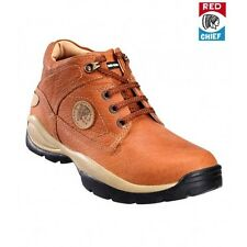 RED CHIEF ORIGINAL MENS TAN LONG BOOTS LOAFER ADVENTURE CASUAL SHOES 2055