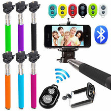 Selfie Palo Selfies Extensible Monopod Tripode para movil Samsung con Bluetooth