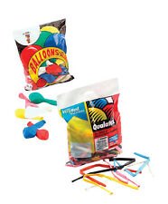 100 pcs of PARTY #BALLOONS MODELLING QUALATEX FOR FUN PARTY ACCESSORY