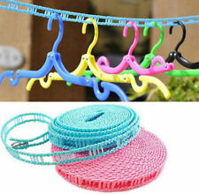 3M/5M Strong Non-slip Clothes Washing Line Laundry Rope - Random Colour