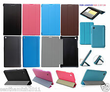 LENOVO TAB 2 A7-30 PREMIUM QUALITY LEATHER FLIP CASE COVER STAND | SCREEN GUARD