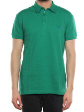 FRED PERRY POLO LIGHT & STRETCH VERDE PEPPERMINT 30162170 polo uomo