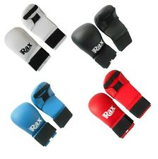 RAX Karate Mitts Sparring Gloves Competition and Training Martial Arts Punch Bag