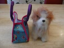 FURREAL TEACUP PUPPIES PUPPY DOG RABBIT BUNNY & HANDBAG MALTESE LHASA APSO