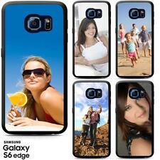 PERSONALISED PRINTED BUMPER PHONE CASE FOR SAMSUNG GALAXY S6, S7 EDGE, S5, S4