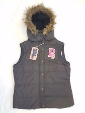 Pauls Boutique Padded Bodywarmer / Gilet in Grey. Brand New! ---- Was £75