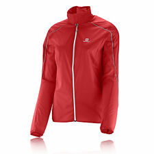 Salomon S-Lab Light Damen Laufjacke Jogging Sport Jacke Funktionsjacke Rot