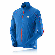 Salomon S-Lab Light Herren Laufjacke Jogging Sport Jacke Funktionsjacke Blau