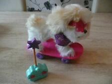 FURREAL BOUNCY HAPPY TO SEE ME PUPPY FILO ROLL OVER PUP TRIXIE SKATEBOARD DOG