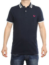 FRED PERRY POLO REGULAR FIT NAVY 30102136 polo uomo