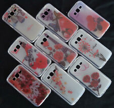 PRINTED TRANSPARENT SILICON BACK CASE COVER FOR SAMSUNG GALAXY GRAND 2 g7106