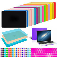 Snap-On Matte Hard Case Keyboard Cover For MacBook Air Pro Retina 11 12 13 15""