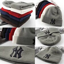 New Fashion Unisex Men Women Knit Beanie Reversible Chunky Baggy Cap Warm Hats