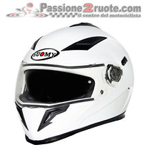Casco integrale Suomy Halo white bianco