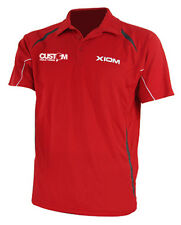 XIOM MANTRA BREATHABLE CUSTOM TABLE TENNIS SHIRT RED
