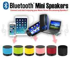 SPEAKER BLUETOOTH WIRELESS  MINI   SPEAKER  FOR IPHONE IPAD MP3 Rechargble