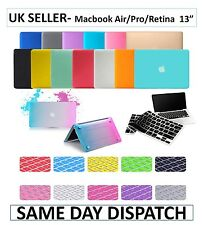 "Matte Rubberized Hard Shell Case + Keyboard Skin for Apple MacBook 13"" 13 Inch"