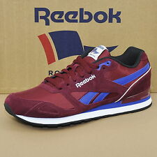 Reebok Royal Mission BASKETS CHAUSSURES HOMME BORDEAUX / RBK / CRAIE m41542