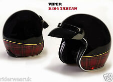 VIPER RS-04 Casco moto scooter Jet Casco Touring Donne Casco aperto, Union Jack
