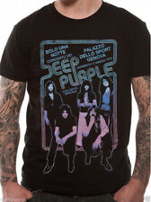 OFFICIAL Deep Purple Smoke On The Water / Genova Live in Italy 1973 T Shirts NEW
