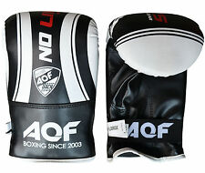AQF Bag Mitts Gloves Boxing Gloves Grapling Punch Bag MMA UFC Muay Thai Training