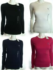 BNWT RALPH LAUREN SPORT WOMEN BASIC CREW NECK T-SHIRT MORE COLOUR & SIZE RRP £50