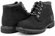 Timberland Women's BLACK Waterproof Nellie Chukka Double Boots Shoes 23398 USA